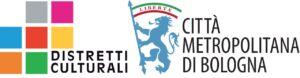 logo distretti culturali della città metropolitana di bologna