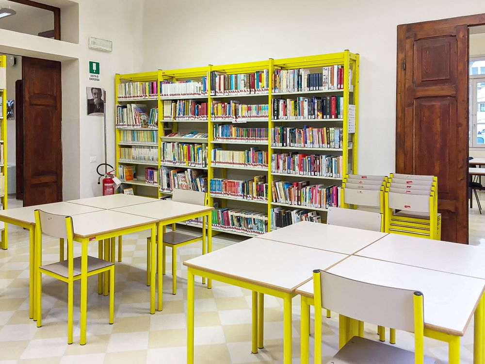 Sala interna - biblioteca Castiglione