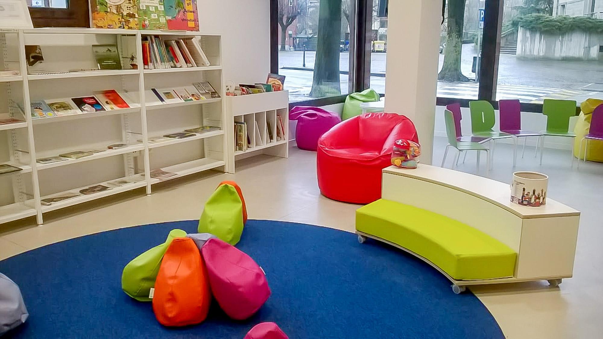 Biblioteca di Marzabotto - sala bambini