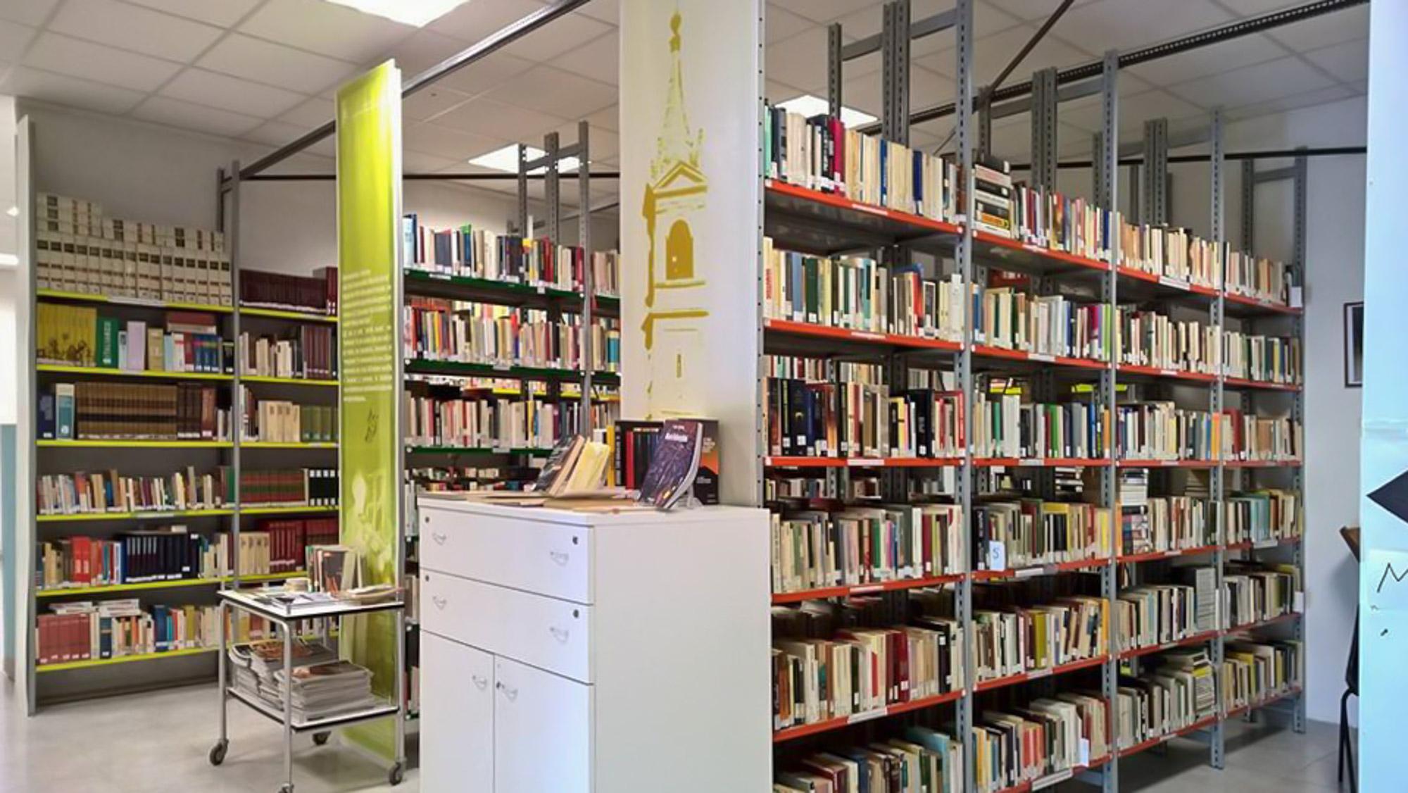 San Benedetto Val di Sambro- Sala biblioteca